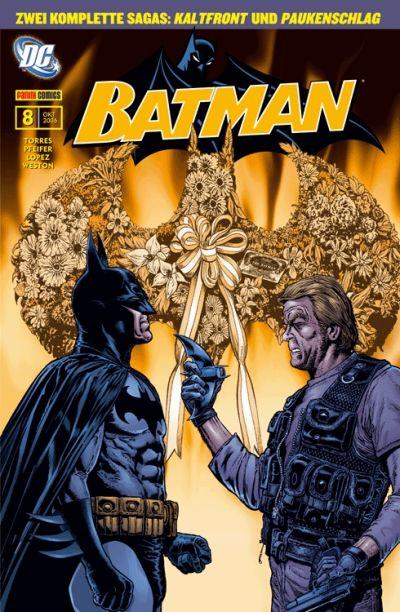 Cover for Batman Sonderband (Panini Deutschland, 2004 series) #8 - Kaltfront