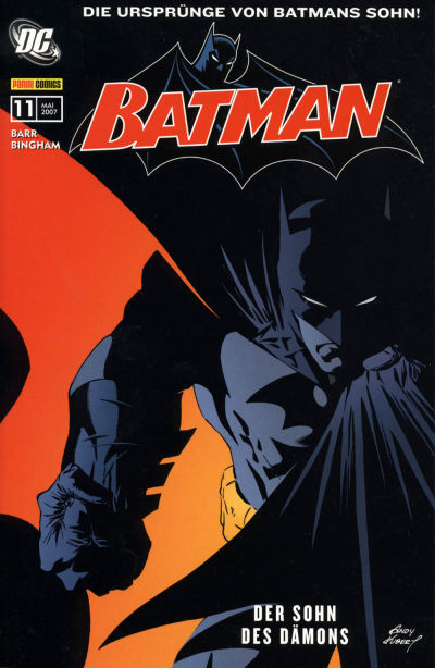 Cover for Batman Sonderband (Panini Deutschland, 2004 series) #11 - Der Sohn des Dämons