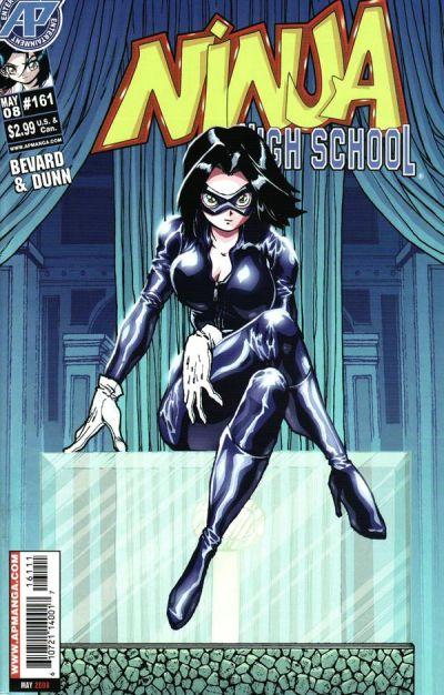 Cover for Ninja High School (Antarctic Press, 1994 series) #161