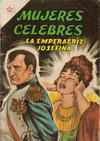 Cover for Mujeres Célebres (Editorial Novaro, 1961 series) #22