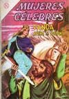 Cover for Mujeres Célebres (Editorial Novaro, 1961 series) #39