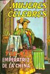 Cover for Mujeres Célebres (Editorial Novaro, 1961 series) #47