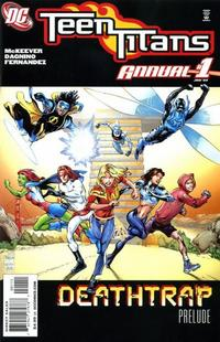 Cover Thumbnail for Teen Titans Annual 2009 (DC, 2009 series) #1