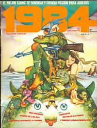 Cover Thumbnail for 1984 (Toutain Editor, 1978 series) #17