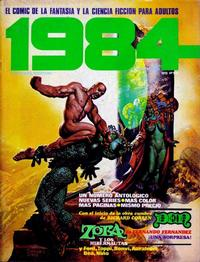 Cover Thumbnail for 1984 (Toutain Editor, 1978 series) #22