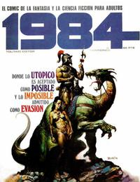 Cover Thumbnail for 1984 (Toutain Editor, 1978 series) #25