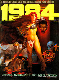 Cover Thumbnail for 1984 (Toutain Editor, 1978 series) #31
