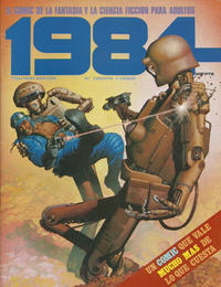 Cover Thumbnail for 1984 (Toutain Editor, 1978 series) #35