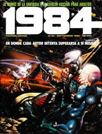 Cover Thumbnail for 1984 (Toutain Editor, 1978 series) #44