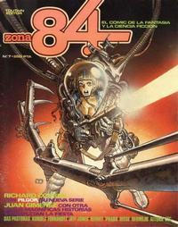 Cover Thumbnail for Zona 84 (Toutain Editor, 1984 series) #7