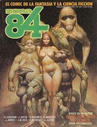 Cover Thumbnail for Zona 84 (Toutain Editor, 1984 series) #38