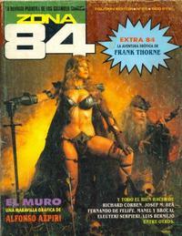 Cover Thumbnail for Zona 84 (Toutain Editor, 1984 series) #85
