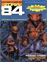 Cover Thumbnail for Zona 84 (Toutain Editor, 1984 series) #86