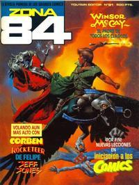 Cover Thumbnail for Zona 84 (Toutain Editor, 1984 series) #91