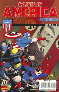 Cover Thumbnail for Captain America Comics 70th Anniversary Special (Marvel, 2009 series) #1 [Regular Cover]