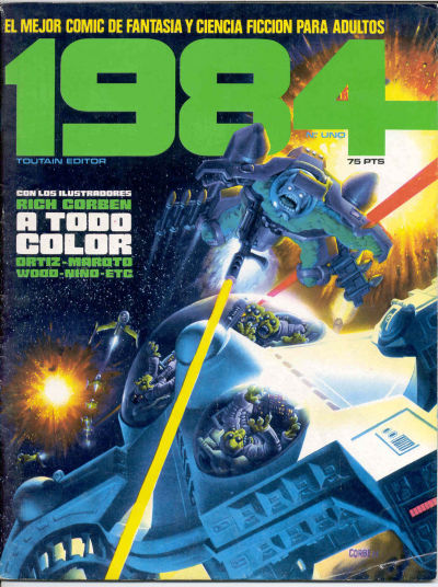 Cover for 1984 (Toutain Editor, 1978 series) #1