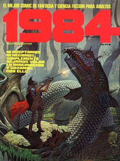 Cover for 1984 (Toutain Editor, 1978 series) #4