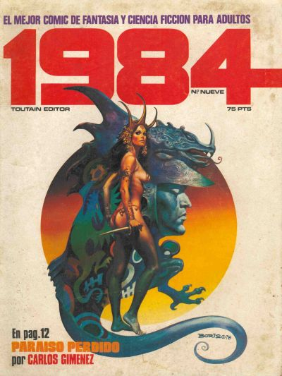 Cover for 1984 (Toutain Editor, 1978 series) #9