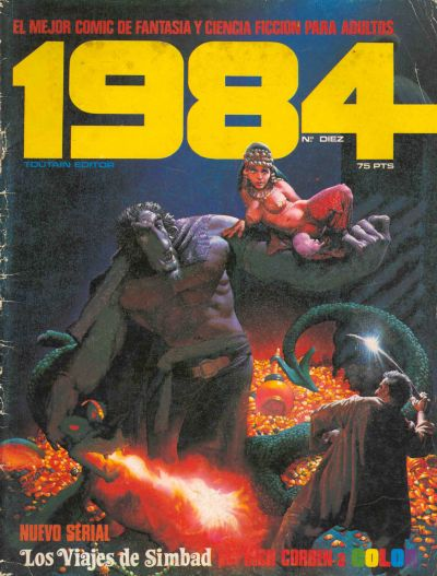 Cover for 1984 (Toutain Editor, 1978 series) #10
