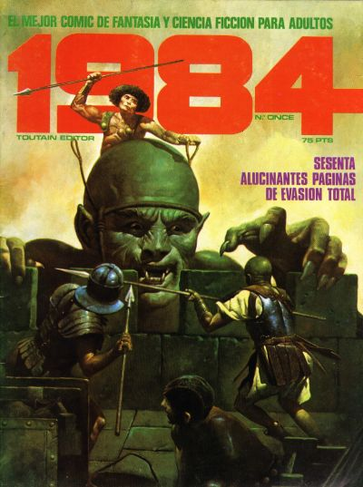 Cover for 1984 (Toutain Editor, 1978 series) #11
