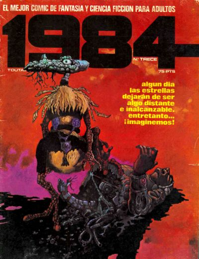 Cover for 1984 (Toutain Editor, 1978 series) #13