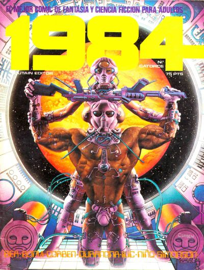 Cover for 1984 (Toutain Editor, 1978 series) #14