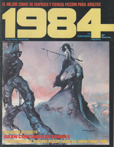 Cover for 1984 (Toutain Editor, 1978 series) #16