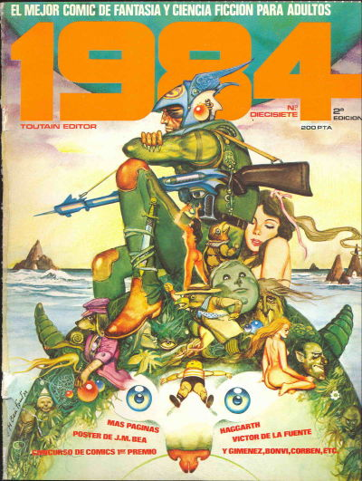 Cover for 1984 (Toutain Editor, 1978 series) #17