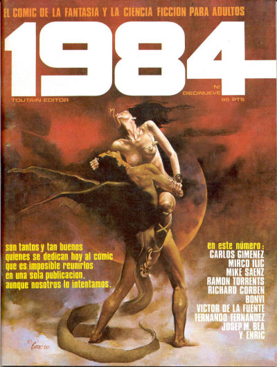 Cover for 1984 (Toutain Editor, 1978 series) #19