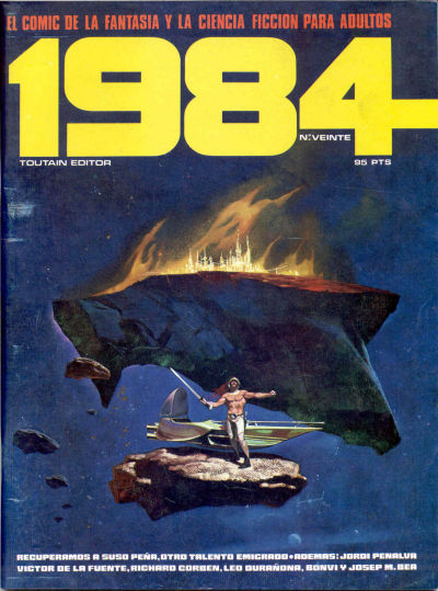 Cover for 1984 (Toutain Editor, 1978 series) #20