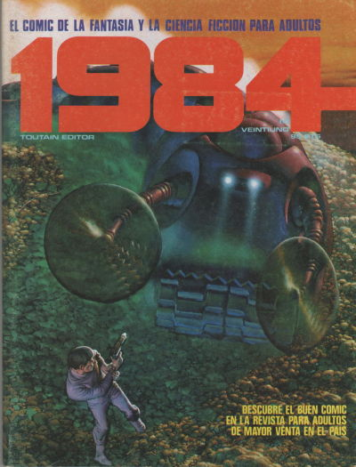 Cover for 1984 (Toutain Editor, 1978 series) #21