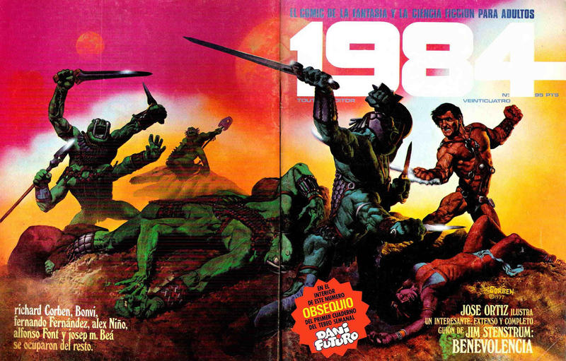 Cover for 1984 (Toutain Editor, 1978 series) #24