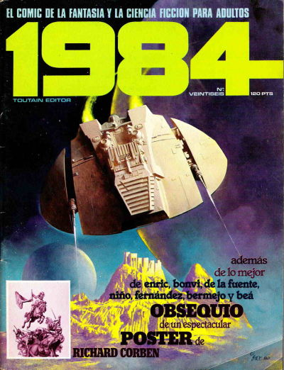 Cover for 1984 (Toutain Editor, 1978 series) #26