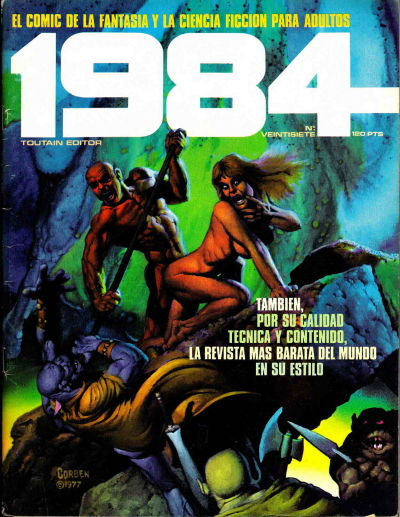 Cover for 1984 (Toutain Editor, 1978 series) #27