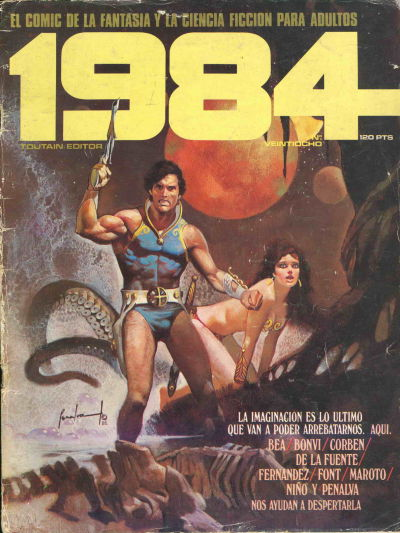 Cover for 1984 (Toutain Editor, 1978 series) #28