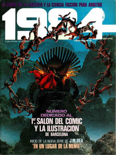 Cover for 1984 (Toutain Editor, 1978 series) #29