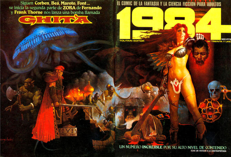 Cover for 1984 (Toutain Editor, 1978 series) #31
