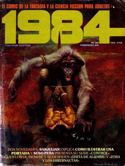 Cover for 1984 (Toutain Editor, 1978 series) #37