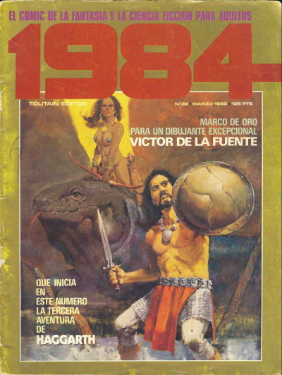 Cover for 1984 (Toutain Editor, 1978 series) #38