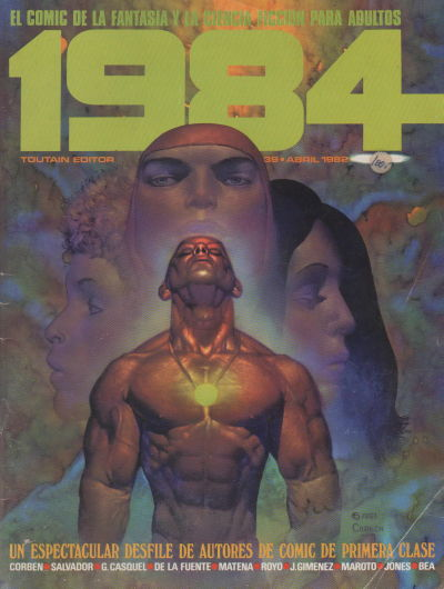 Cover for 1984 (Toutain Editor, 1978 series) #39