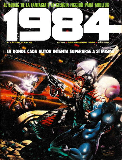 Cover for 1984 (Toutain Editor, 1978 series) #44