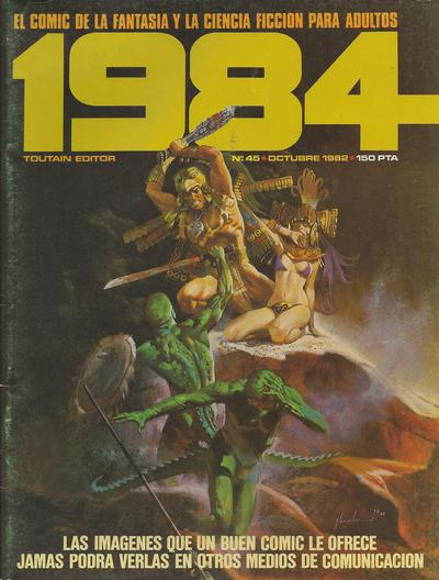 Cover for 1984 (Toutain Editor, 1978 series) #45