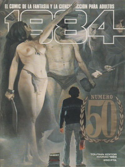 Cover for 1984 (Toutain Editor, 1978 series) #50