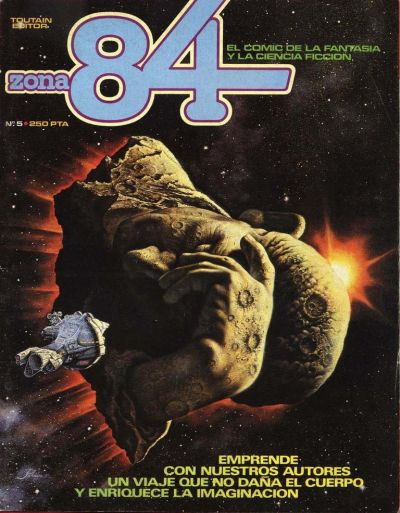 Cover for Zona 84 (Toutain Editor, 1984 series) #5