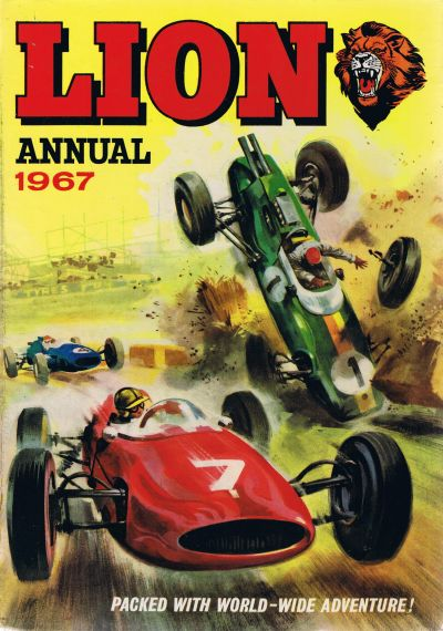 Cover for Lion Annual (Fleetway Publications, 1954 series) #1967