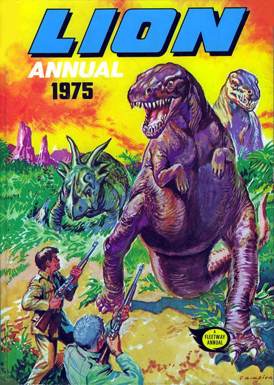 Cover for Lion Annual (Fleetway Publications, 1954 series) #1975