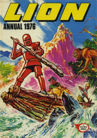 Cover for Lion Annual (Fleetway Publications, 1954 series) #1976