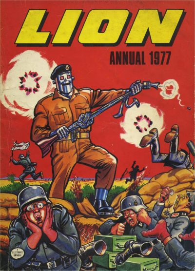 Cover for Lion Annual (Fleetway Publications, 1954 series) #1977