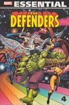 Cover for Essential Defenders (Marvel, 2005 series) #4