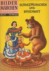 Cover for Bildermärchen (BSV - Williams, 1957 series) #29